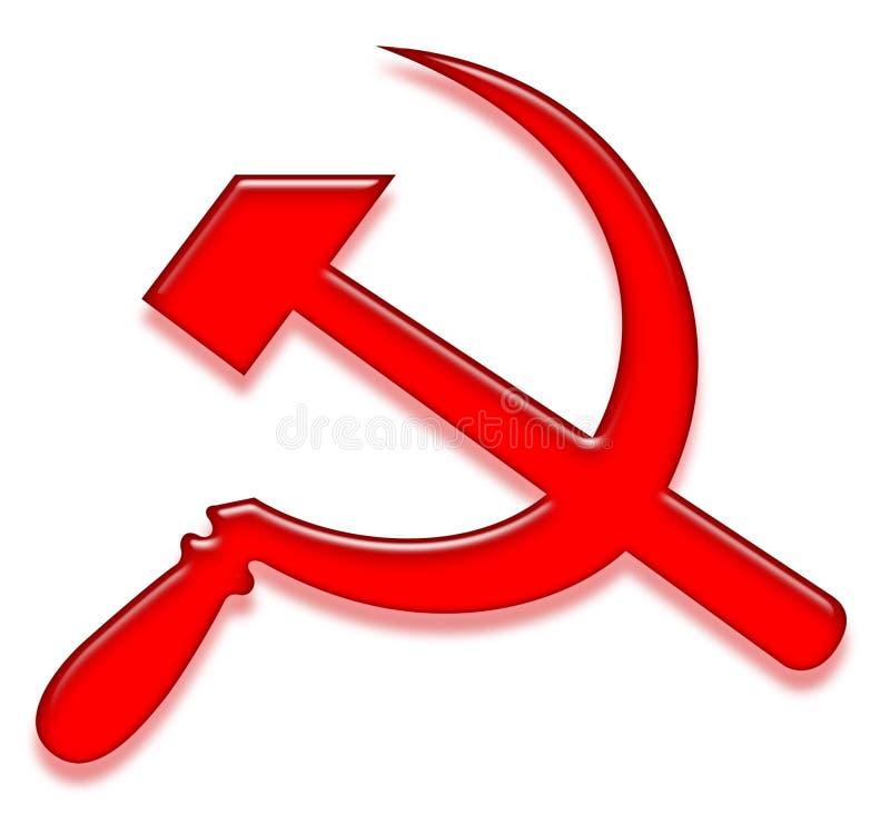 Sinal comunista ilustração do vetor