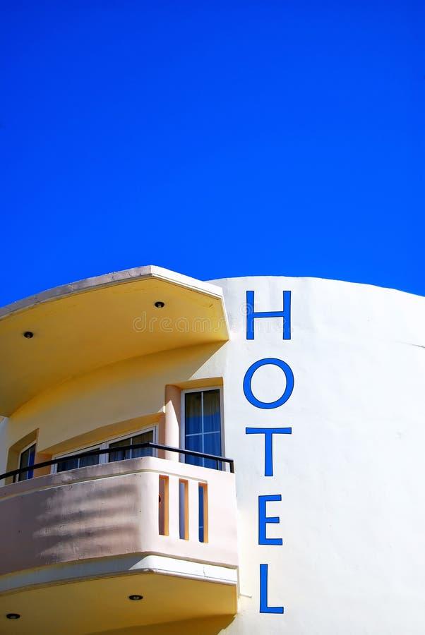 Sinal crete do hotel fotos de stock royalty free