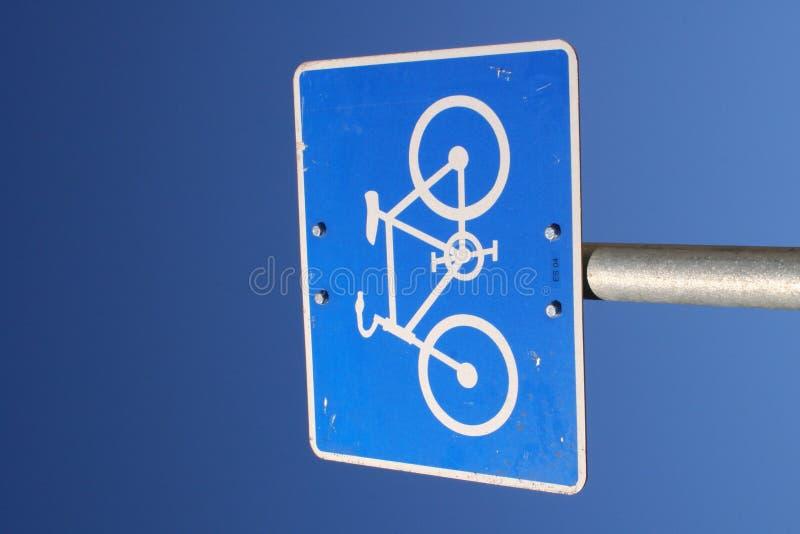 Sinal Da Bicicleta Foto de Stock Royalty Free