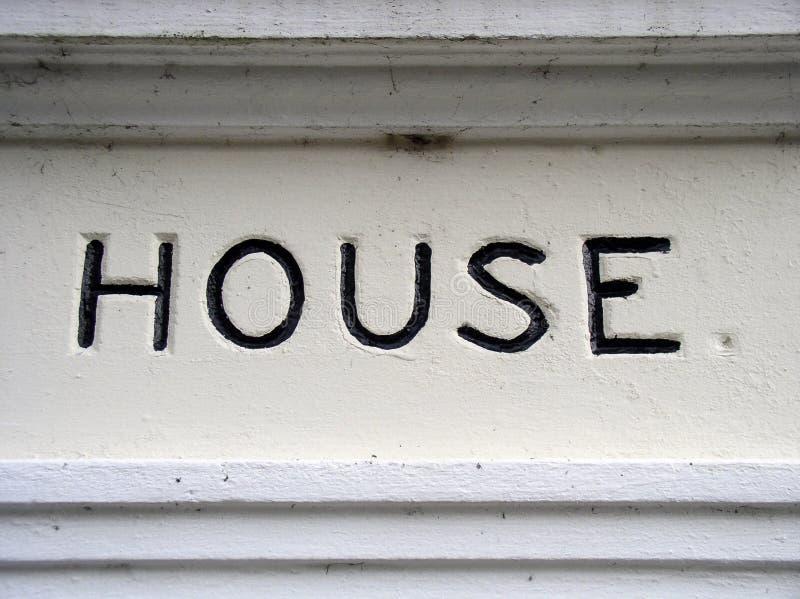 Download Sinal da casa foto de stock. Imagem de home, homey, inglaterra - 62432