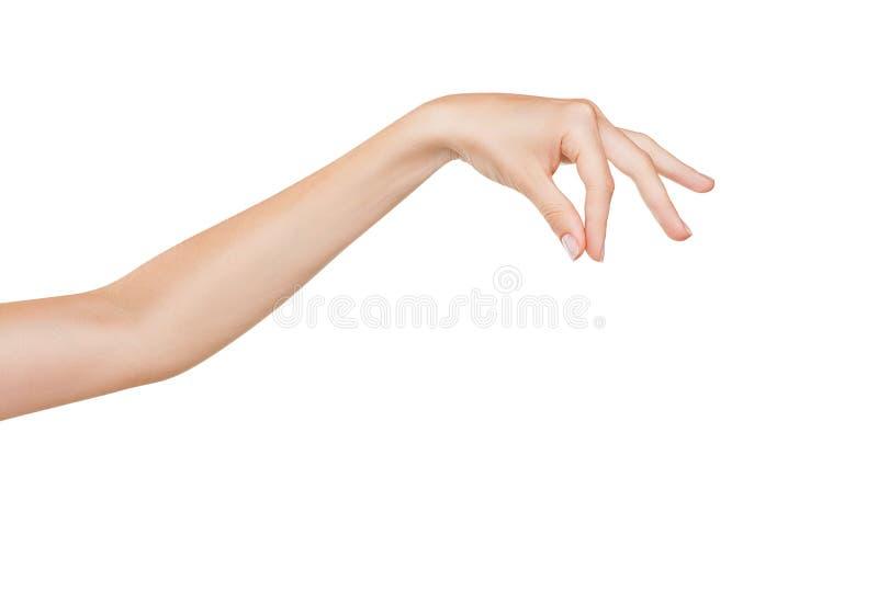Sinal da mão fotografia de stock