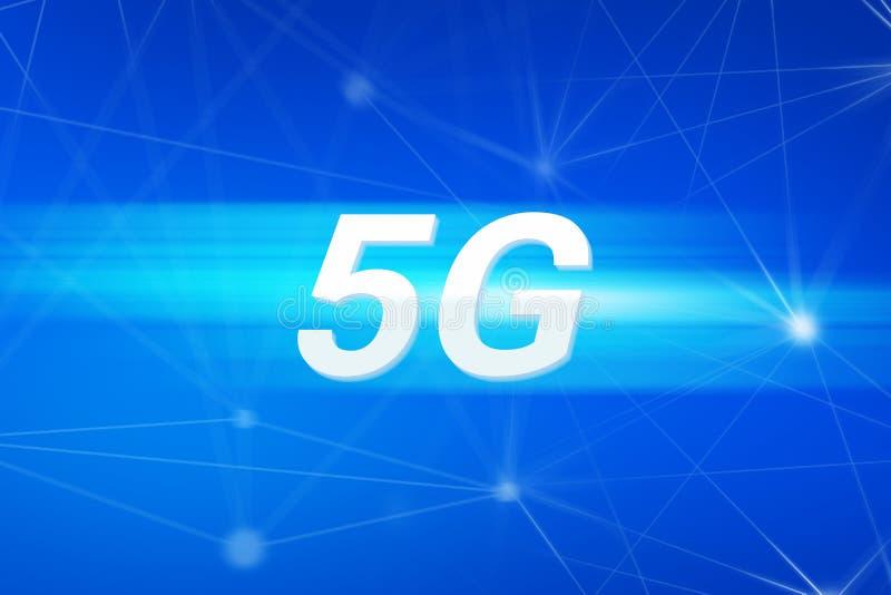 sinal da rede 5G imagem de stock royalty free