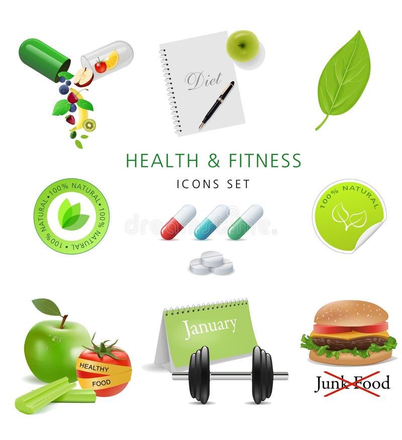 Sinal da saúde ilustração stock