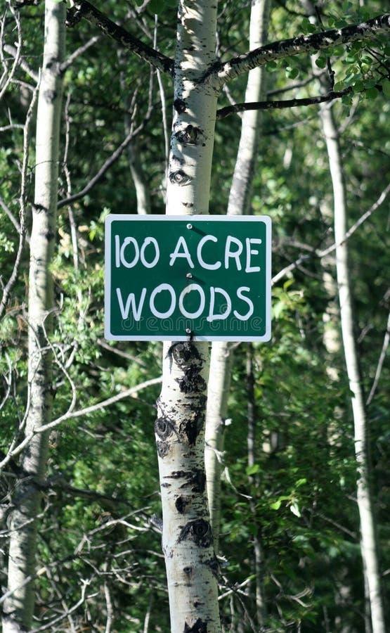 Sinal de 100 madeiras do acre