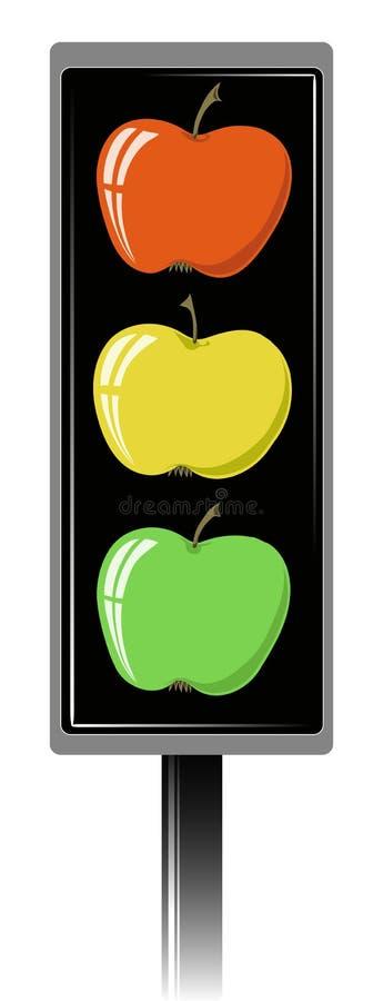 Sinal de Apple ilustração do vetor