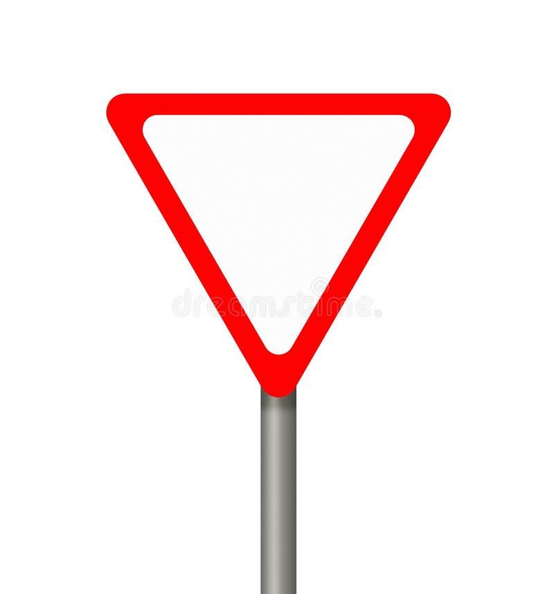 Sinal de aviso. ilustração do vetor