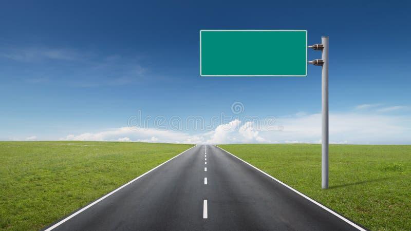 Sinal de estrada imagens de stock