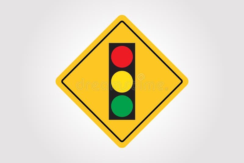 Sinal de estrada do vetor, projeto da ilustração do tráfego ilustração stock