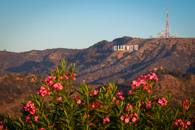 Sinal de Hollywood imagem de stock royalty free
