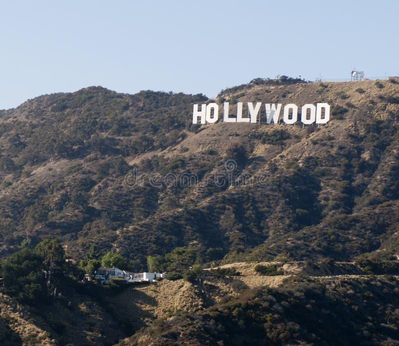 Sinal de Hollywood, Los Angeles, Califórnia fotografia de stock royalty free