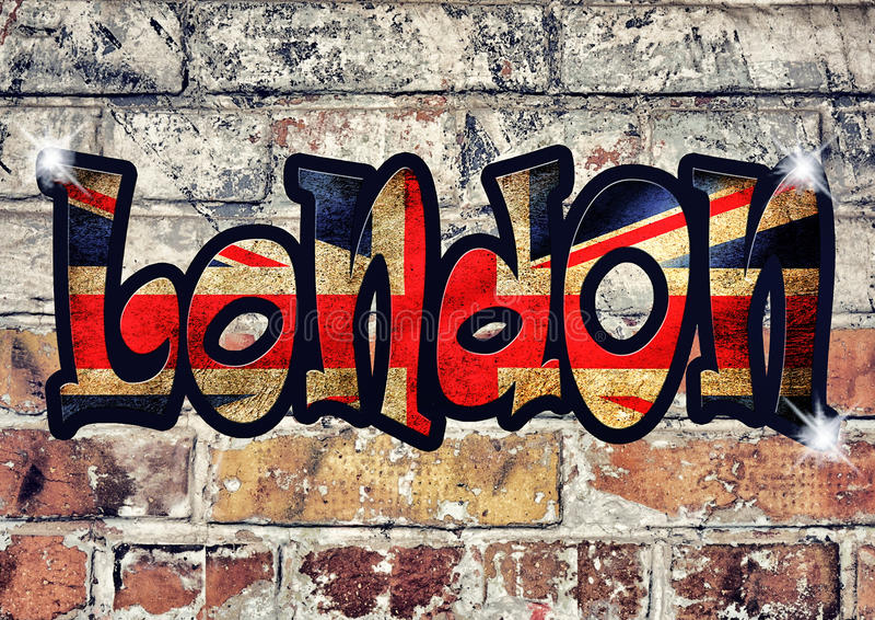Sinal de Londres ilustração do vetor