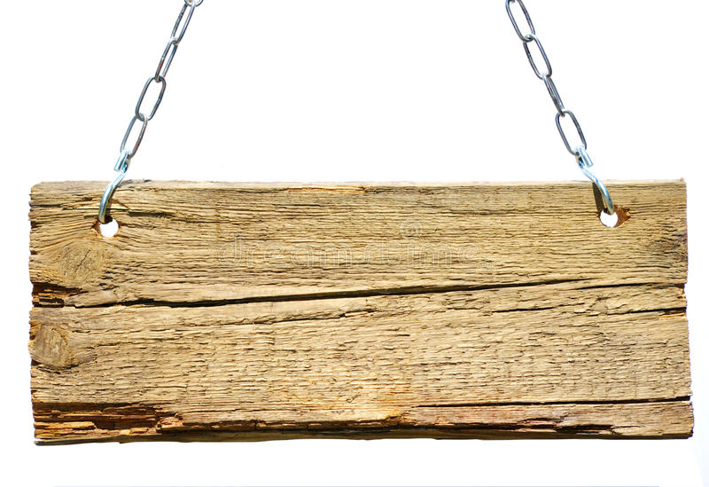 Sinal de madeira imagens de stock