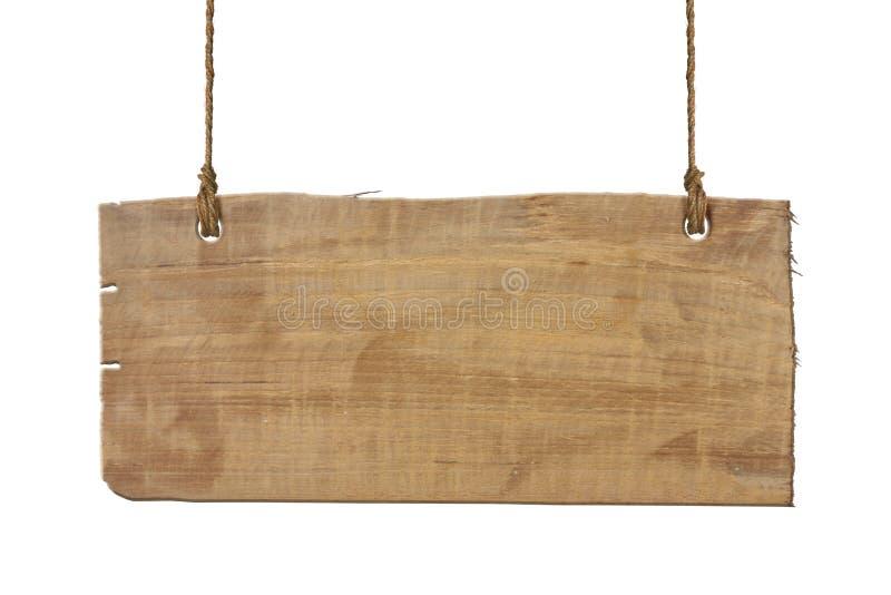 Sinal de madeira isolado fotos de stock