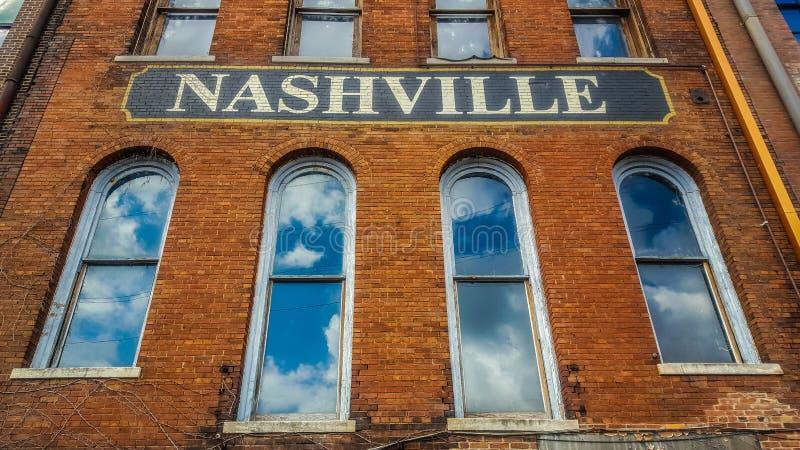 Sinal de Nashville imagens de stock