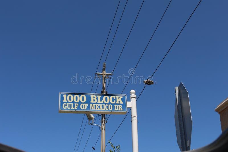 Sinal de rua de Florida imagens de stock royalty free