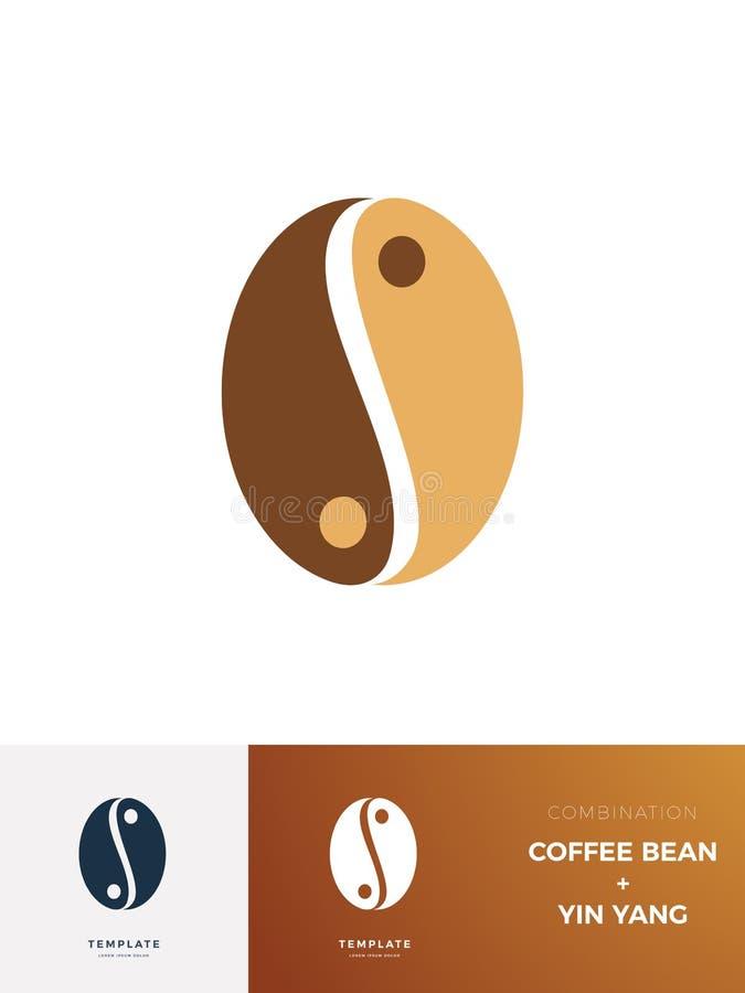 Sinal de Saldo de Café com descrição Ilustração de vetor isolada ilustração stock