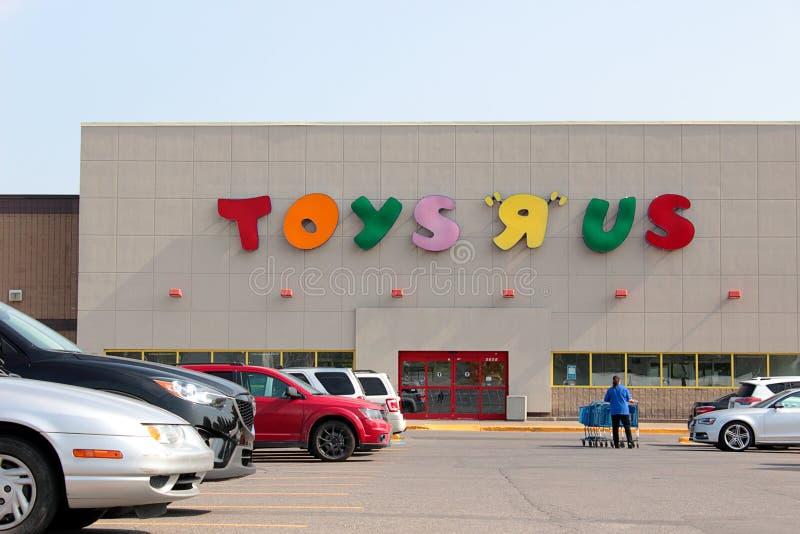 Sinal de Toys R Us foto de stock