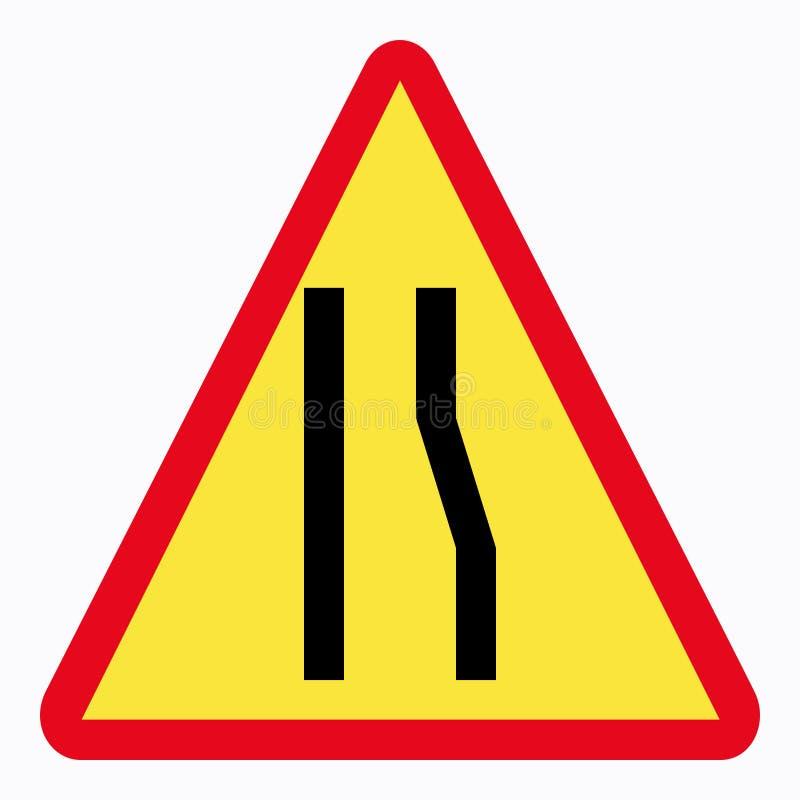 Download Sinal de tráfego ilustração stock. Ilustração de triangular - 64249