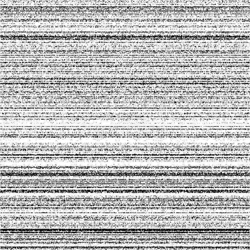 Sinal de vídeo sem emenda da faixa do ruído da textura do ruído ilustração do vetor
