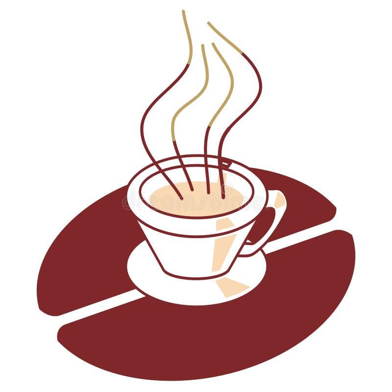 Sinal do café ilustração do vetor
