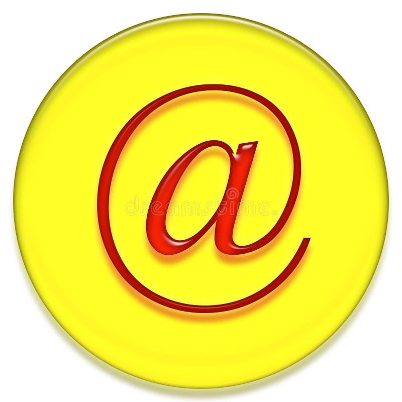 Sinal do email ilustração royalty free