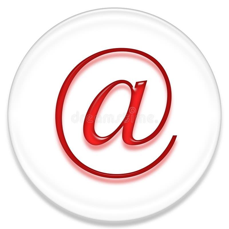 Sinal do email ilustração do vetor