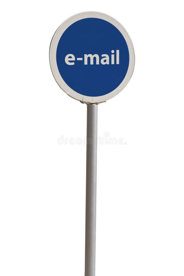 Sinal do email imagens de stock