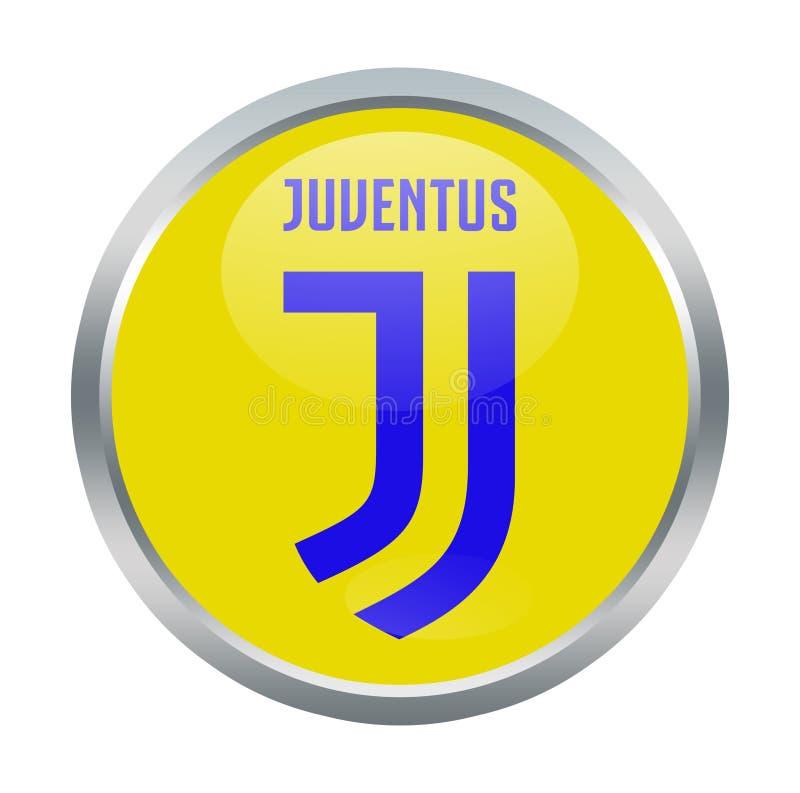 Sinal do fc de Juventus ilustração do vetor
