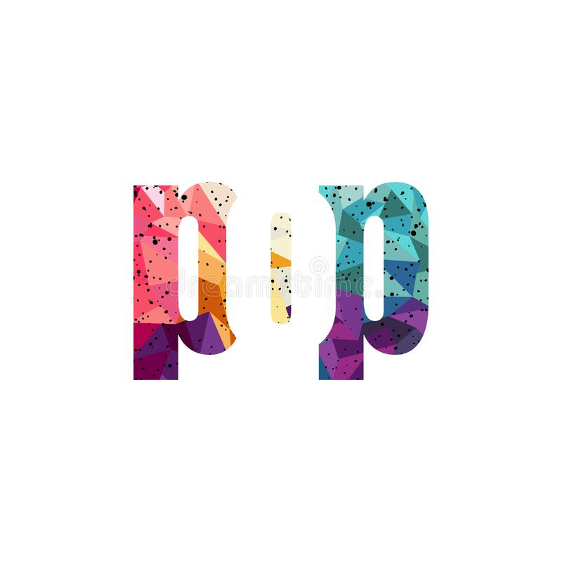 sinal do gênero da música do texto do PNF ilustração royalty free