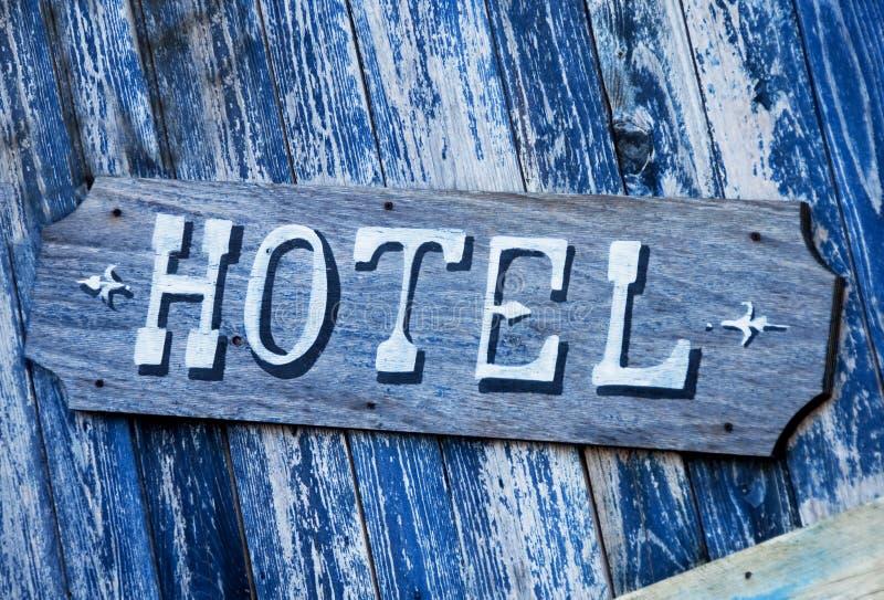 Sinal do hotel fotografia de stock royalty free