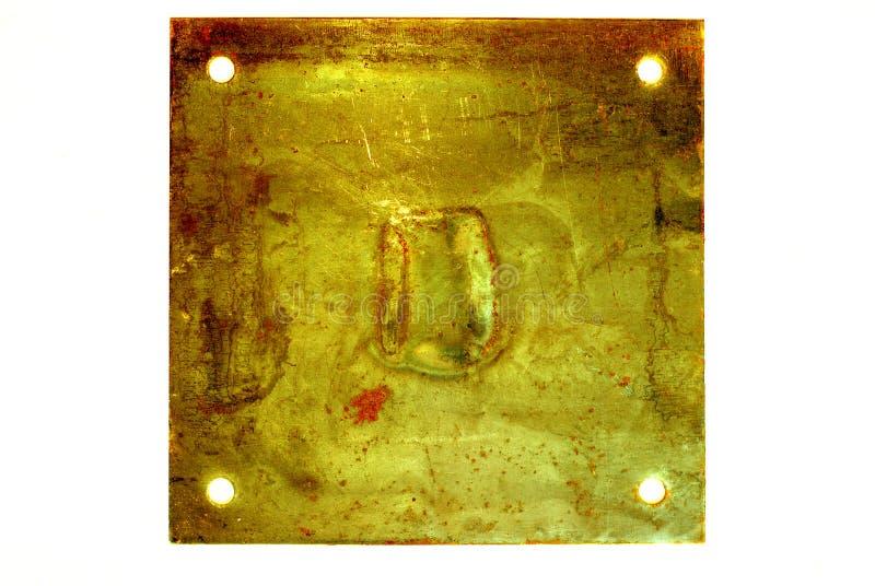 Sinal do metal imagens de stock