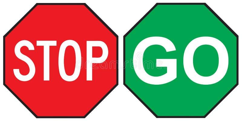 Sinal do sinal de trânsito ilustração royalty free