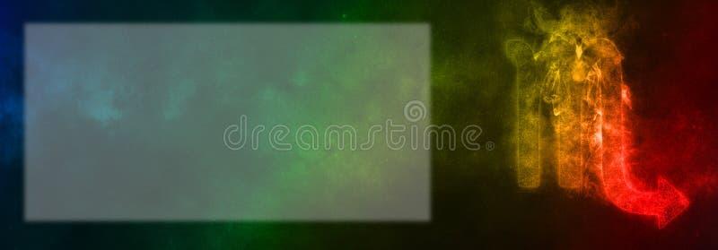 Sinal do zodíaco da Escorpião Sinal do horóscopo da Escorpião Sala do texto do molde imagem de stock