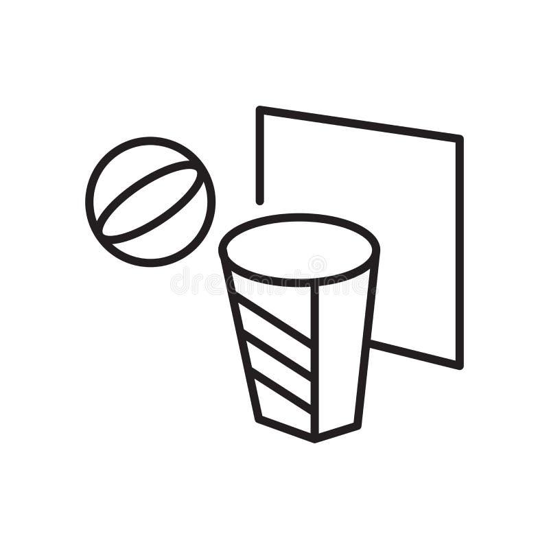 Sinal e símbolo do vetor do ícone do ÚMIDO isolados no fundo branco, conceito do logotipo do ÚMIDO ilustração do vetor