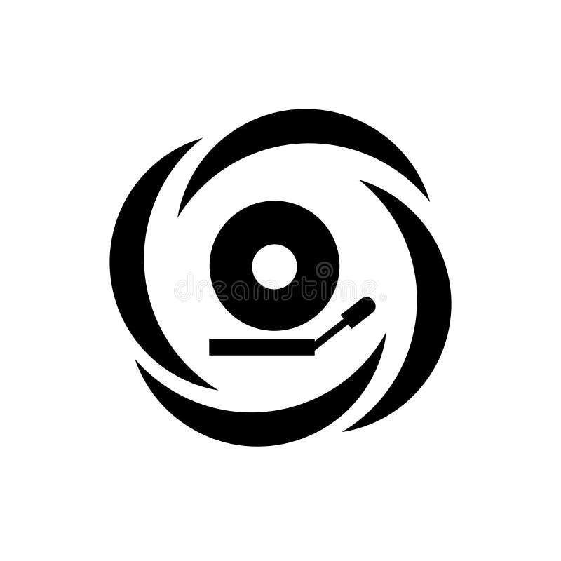 Sinal e símbolo do vetor do ícone do sinal do alarme isolados no fundo branco, conceito do logotipo do sinal do alarme ilustração stock