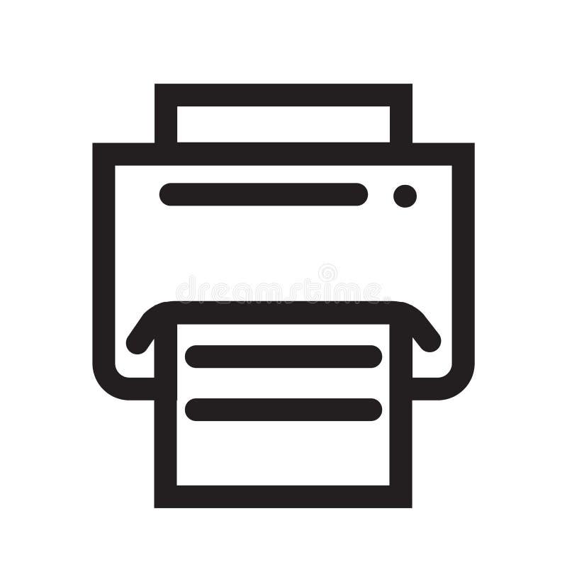 Sinal e símbolo do vetor do ícone do botão de cópia isolados no backg branco ilustração do vetor