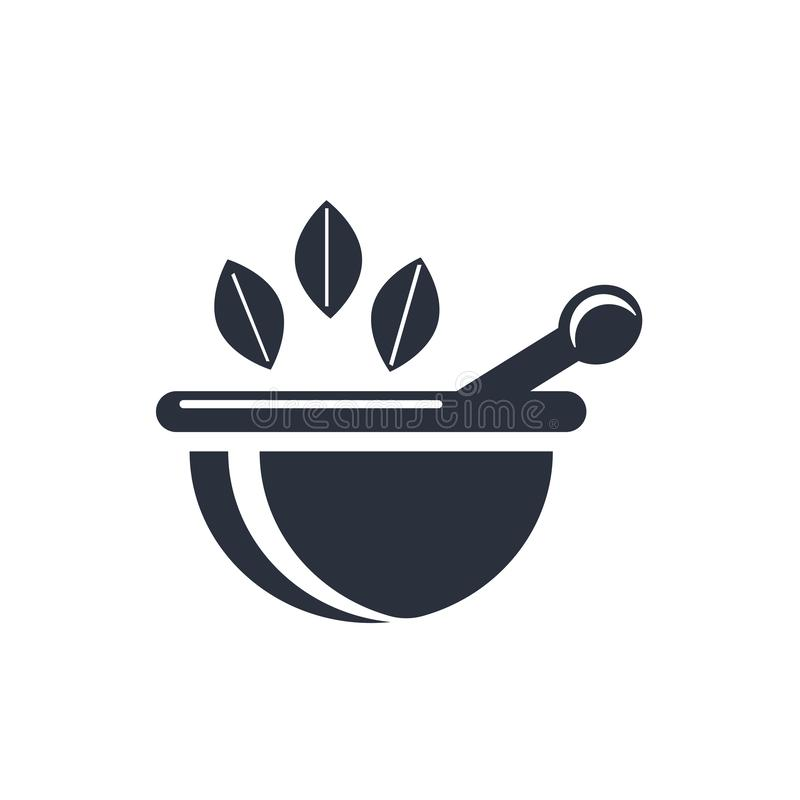 Sinal e símbolo do vetor do ícone da ferramenta da farmácia isolados no fundo branco, conceito do logotipo da ferramenta da farmá ilustração royalty free