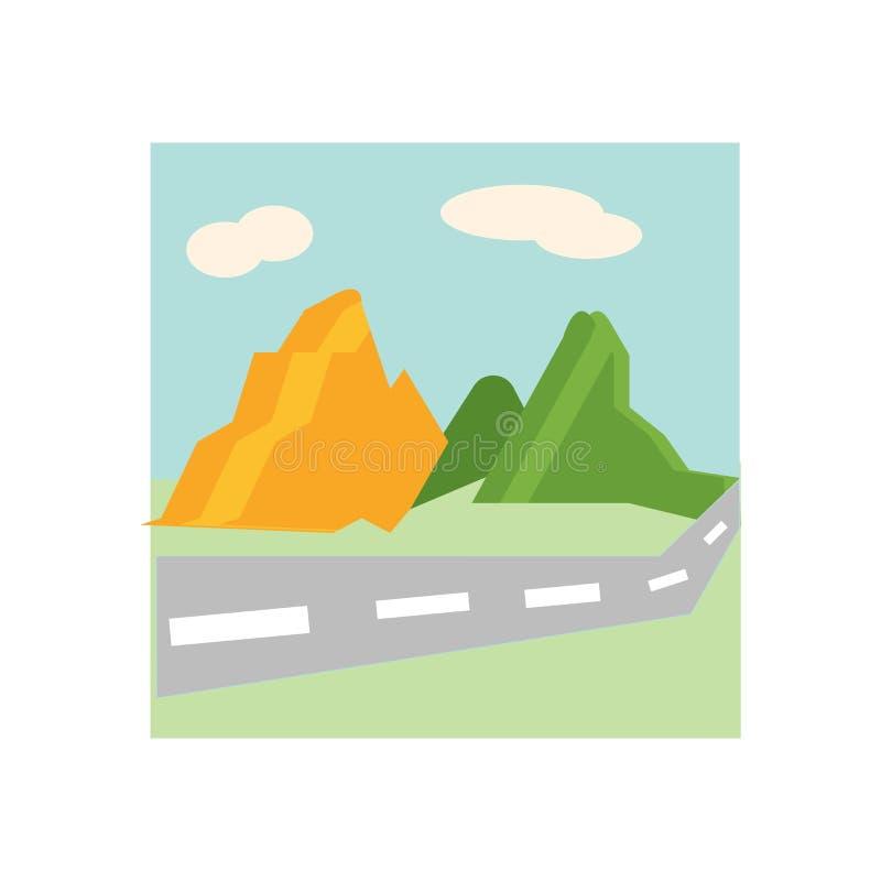 Sinal e símbolo do vetor do ícone da montanha isolados no fundo branco, conceito do logotipo da montanha ilustração do vetor