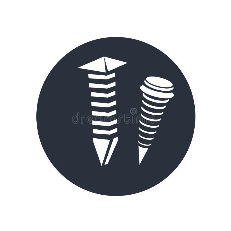 sinal e símbolo do vetor do ícone isolados no fundo branco, conceito do logotipo ilustração stock