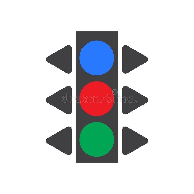 Sinal e símbolo do vetor do ícone do sinal isolados no fundo branco, conceito do logotipo do sinal ilustração stock