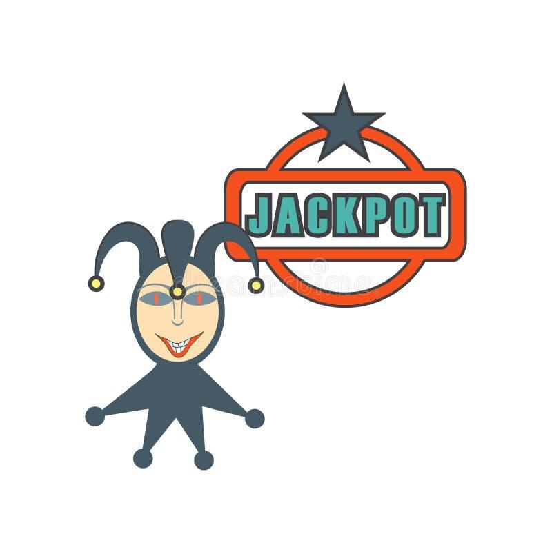 Sinal e símbolo do vetor do ícone do jogador isolados no fundo branco, conceito do logotipo do jogador ilustração stock