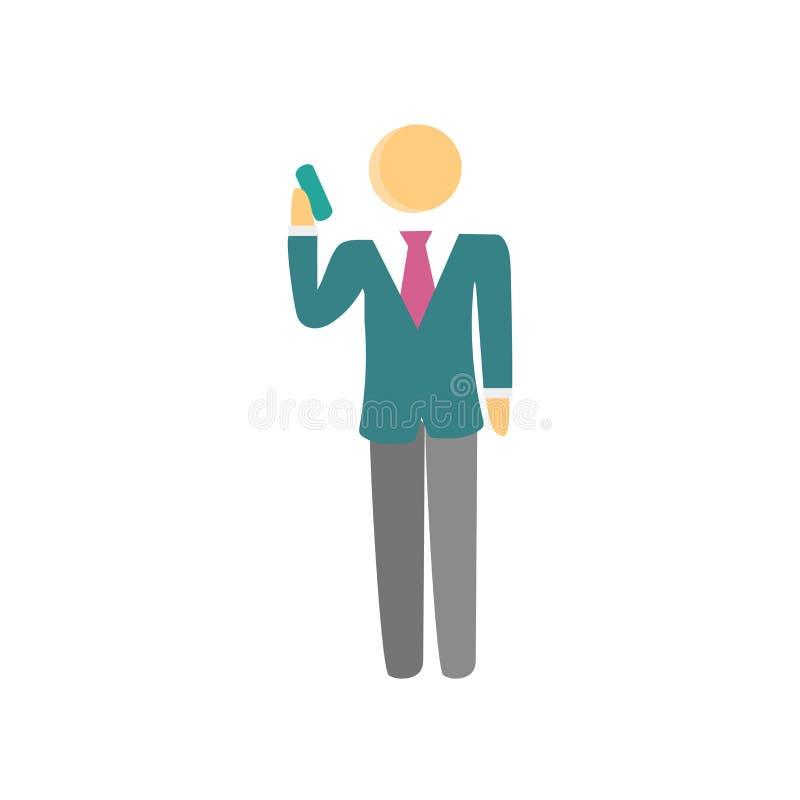 Sinal e símbolo do vetor do ícone do telefonema isolados no fundo branco, conceito do logotipo do telefonema ilustração royalty free