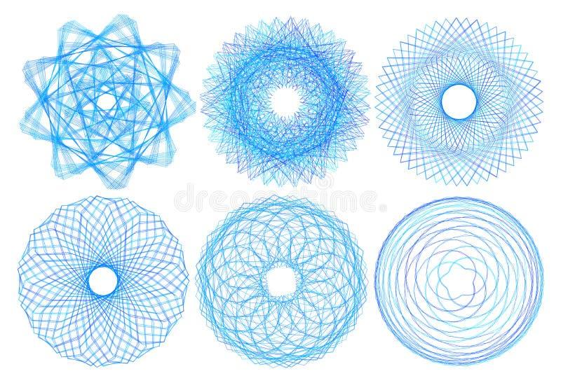 Sinal sagrado da geometria Segt ilustração do vetor