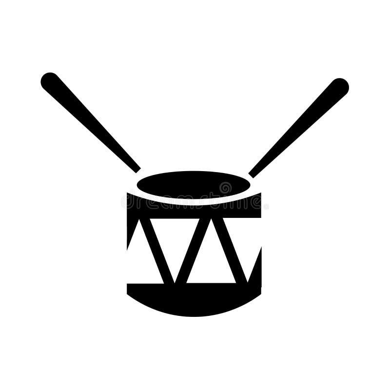 Sinal velho e símbolo do vetor do ícone do cilindro isolados no fundo branco, conceito velho do logotipo do cilindro ilustração do vetor