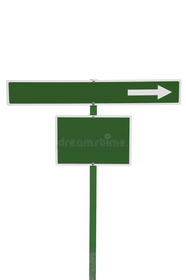 Sinal verde imagens de stock