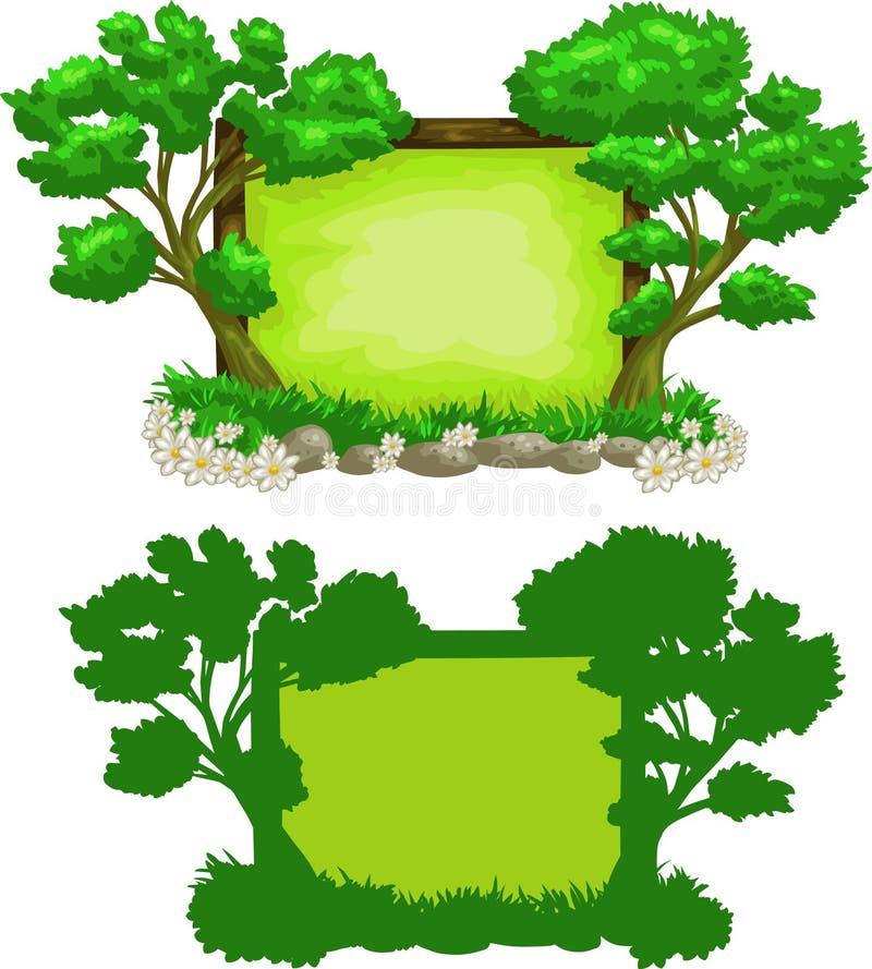 Sinal verde da floresta