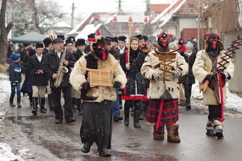 Sinande karneval för vinter