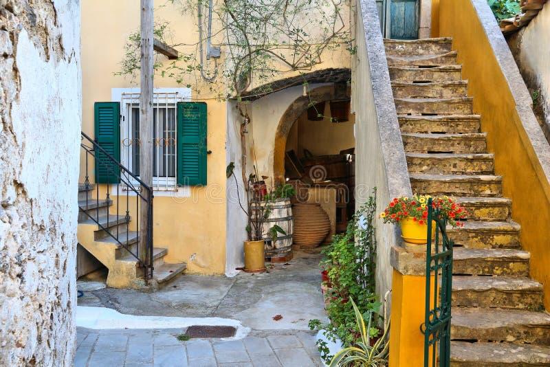Sinarades, Corfu obrazy royalty free