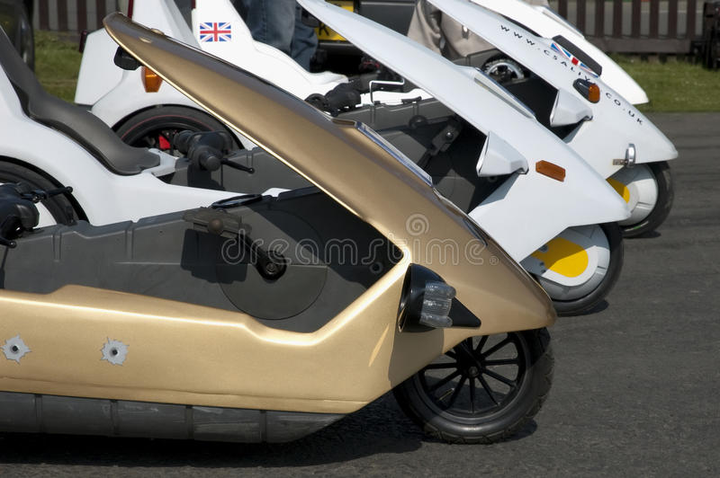 Sinclair C5 lizenzfreie stockfotos