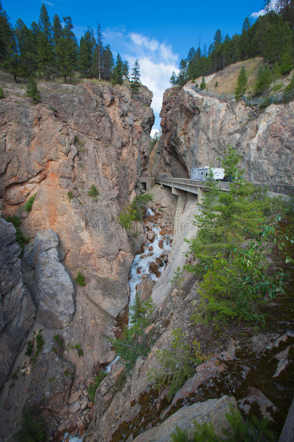 Sinclair Canyon royalty free stock photography
